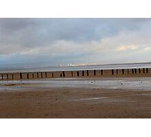 Brean Beach Photographic Print