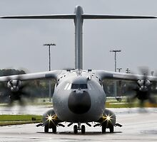 Atlas A400M Taxi by andy lewis