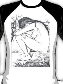 Sorrow (After Vincent Van Gogh) T-Shirt