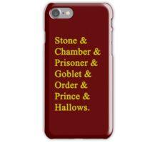 Gryffindor Potter iPhone Case/Skin