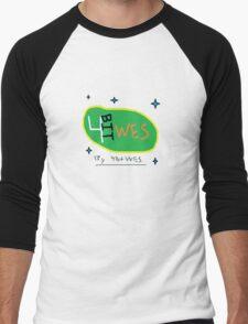 4-Bit Wes Logo Shirt Men's Baseball ¾ T-Shirt