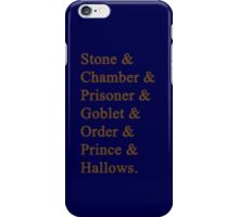 Ravenclaw Potter iPhone Case/Skin