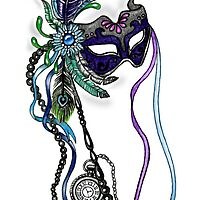The Mardi Gras Mask  by Sandra Gale