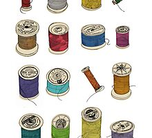 Cotton Reels by doodleyboo