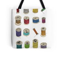 Cotton Reels Tote Bag