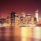 New York City - Night Lights by Vivienne Gucwa