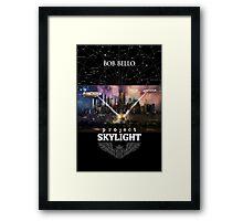 Project Skylight Framed Print