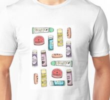 Lip Stuff Pattern Unisex T-Shirt