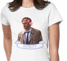 Assbutt Womens Fitted T-Shirt