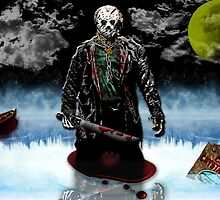 Jason- Camp crystal Lake by American Artist