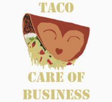 Taco' care of business Kids Tee