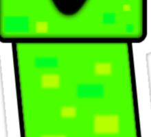 Minecraft Cute Creeper Sticker