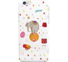 Circus Elephant iPhone Case/Skin