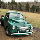 """""""Studebaker Truck: Put Out to Pasture , 'til the Next Ride""""... prints and products by © Bob Hall"""
