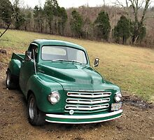 """Studebaker Truck: Put Out to Pasture , 'til the Next Ride""... prints and products by © Bob Hall"