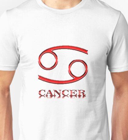 Signo del Horoscopo - Cancer Unisex T-Shirt
