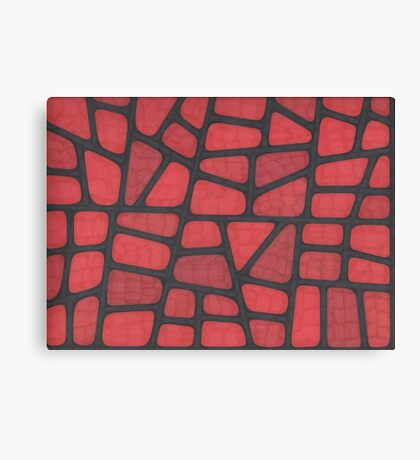 Red Reptile Canvas Print