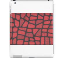 Red Reptile iPad Case/Skin