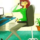 Office Job by Mark Padua
