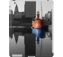 Canning Dock light ship, Liverpool iPad Case/Skin
