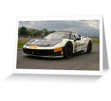 Ferrari Challenge #108 Greeting Card