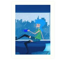 Feeling Blue....In A Good Way Art Print