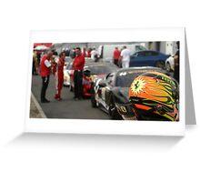 Ferrari Challenge Helmet Greeting Card