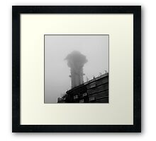 LAX Control Tower Framed Print