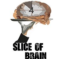 Slice Of Brain Photographic Print