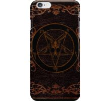 Baphomet Grimoire iPhone Case/Skin