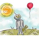 Balloon Bot by BloodyFace