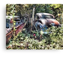 """Long Term Off Road Parking ""... prints and products Canvas Print"