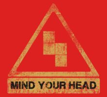 MIND YOUR HEAD One Piece - Short Sleeve