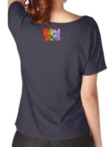 rainbow flowers Women's Relaxed Fit T-Shirt
