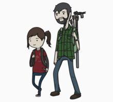 The Last of us Adventure Time by Lorren Francis