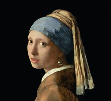 Girl with a Pearl Earring by Bridgeman Art Library