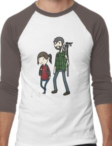 The Last of us Adventure Time Men's Baseball ¾ T-Shirt