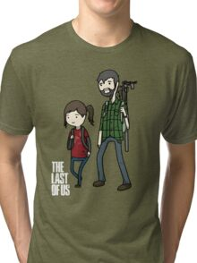 The Last of us Adventure Time Tri-blend T-Shirt