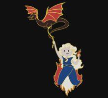 Flame Khaleesi by Denisstiel