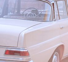 """Mercedes Benz W 110 Heckflosse """" Fintail """" by Mustafa Sural"""