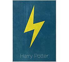 Harry Potter Minimal Print Photographic Print