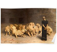Daniel in the Lions' Den Poster