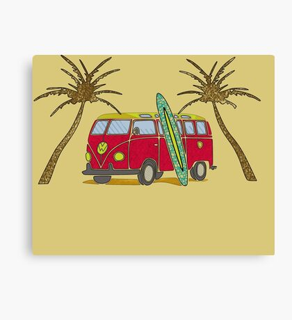 Van california Canvas Print