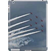 Red Arrows Formation iPad Case/Skin