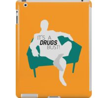 "BBC Sherlock ""It's a drugs bust!"" - Greg Lestrade iPad Case/Skin"