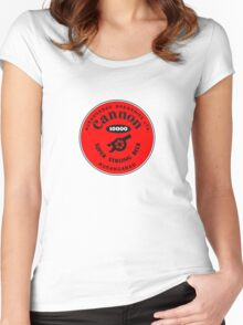 Cannon 10000 Super Strong Beer Women's Fitted Scoop T-Shirt