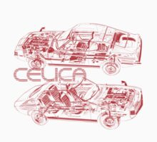 Vintage Celica Cutout by tanyarose