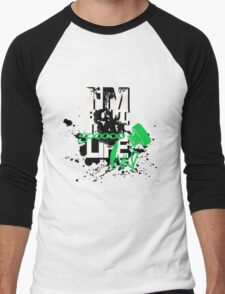 SOOOOOO Inky Men's Baseball ¾ T-Shirt