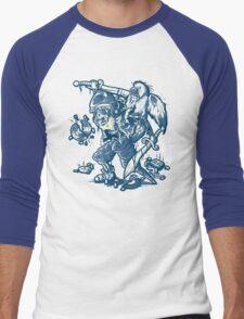 BOOTLEG HUNTER Men's Baseball ¾ T-Shirt
