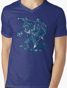 BOOTLEG HUNTER Mens V-Neck T-Shirt